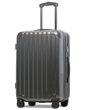 【JP-Design】スーツケース LMサイズ 静音8輪キャスター 軽量 大容量 拡張 TSAロック 受託手荷物無料 キャリーバッグ キャリーケース?