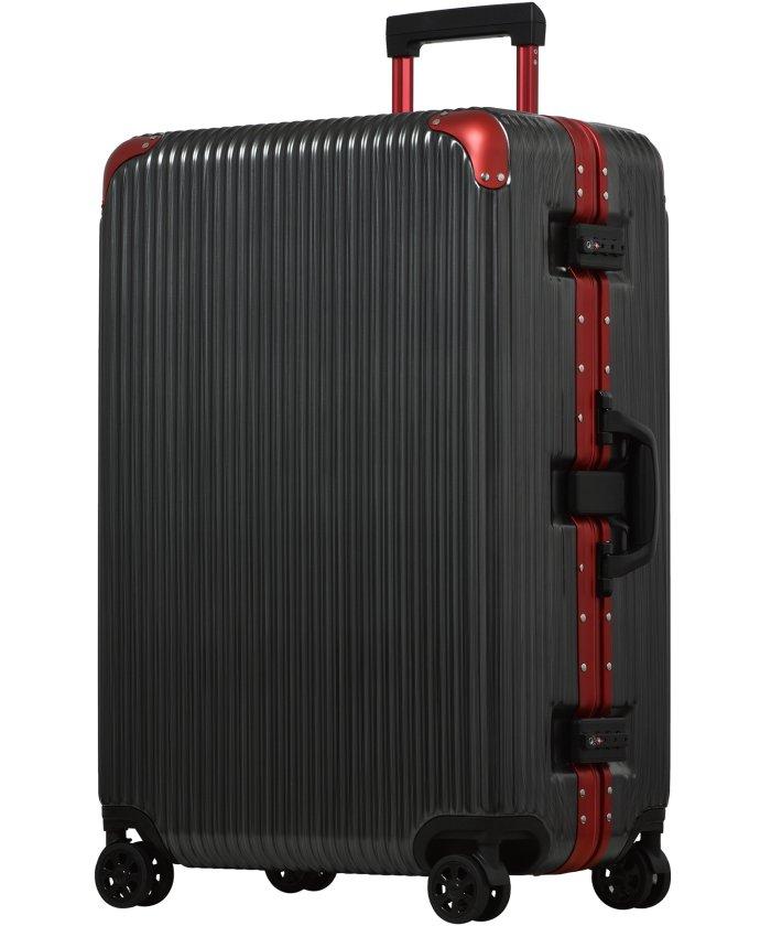 (tavivako/タビバコ)【PROEVO】スーツケース L/ LLサイズ アルミ フレーム ハード 頑丈 超静音 8輪キャスター 軽量 TSA キャリーバッグ キャリーケース/ユニセックス ガンメタリック