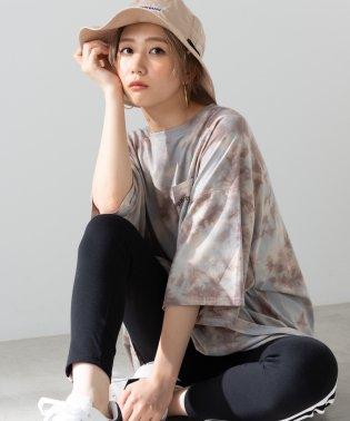 WEGO/タイダイロゴポケットTシャツ