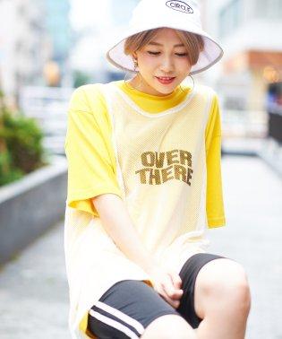 WEGO/メッシュタンクレイヤードBIGTシャツ