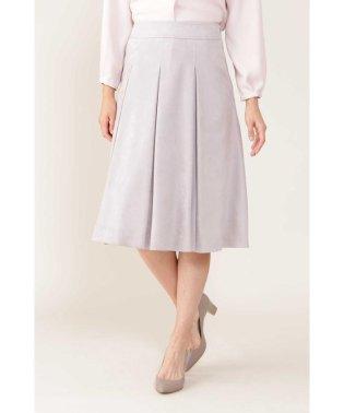 ◆[Jクオリティ]エルモザスエードボックスプリーツスカート
