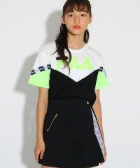★ニコラ掲載★【FILA】カラーブロック Tシャツ