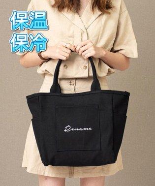 【モデル UMI×DEVICE コラボ】Rename 帆布 トートバッグ (ペットボトルクーラー装備)