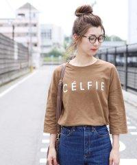 ロゴTシャツ-CELFIE