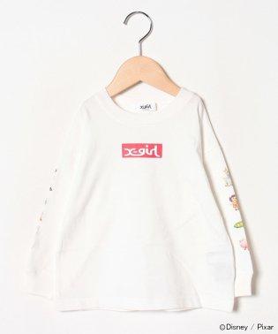 【DISNEY/PIXAR】 TOY STORY/ボックスデザインロゴTシャツ