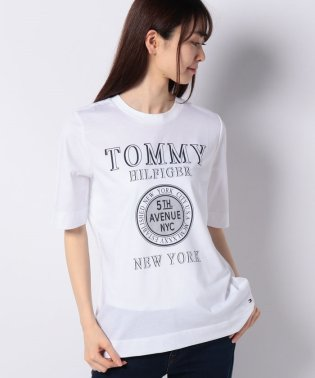 New YorkロゴTシャツ