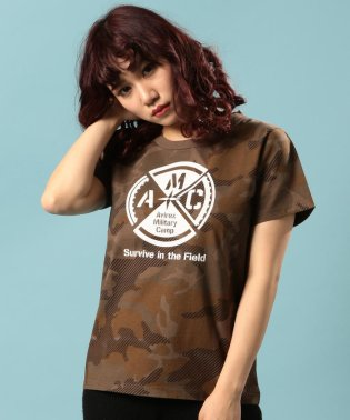 AMC クルーネック Tシャツ/ CREW NECK T-SHIRT【Avirex Military Camp】