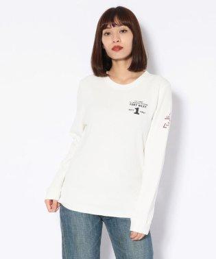 ハニカムワッフルプリント クルーネックTシャツ/WAFFLE PRINT T-SHIRT