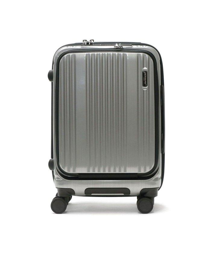 (BERMAS/バーマス)【日本正規品】バーマス インターシティ スーツケース BERMAS INTER CITY 機内持ち込み 35L 1〜2泊 USBポート 静音 出張 60500/ユニセックス シルバー