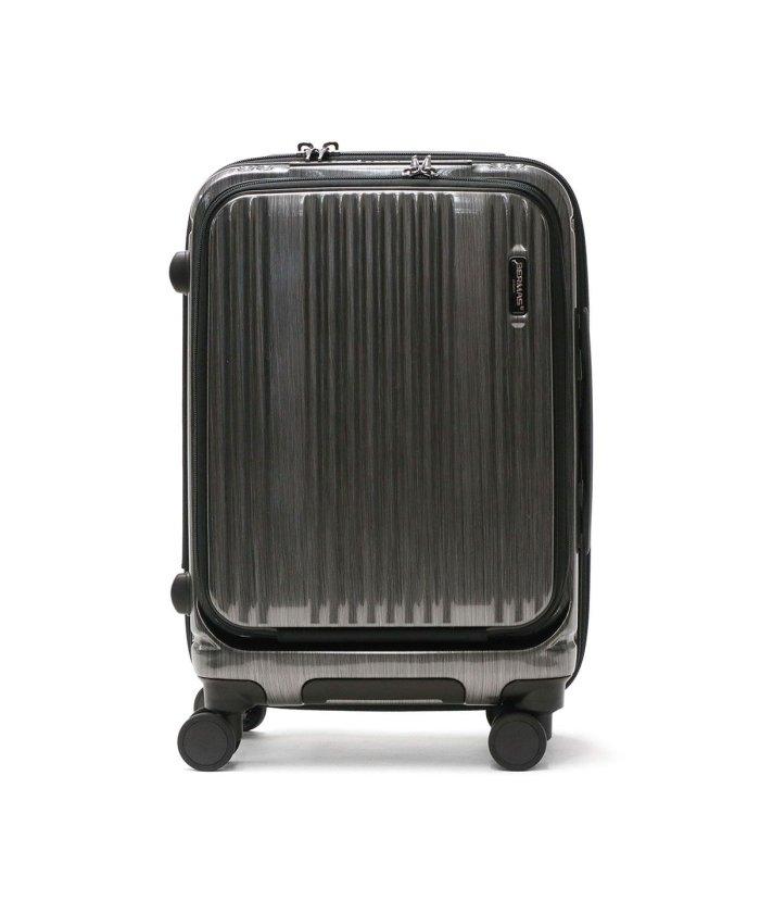 (BERMAS/バーマス)【日本正規品】バーマス インターシティ スーツケース BERMAS INTER CITY 機内持ち込み 35L 1〜2泊 USBポート 静音 出張 60500/ユニセックス ブラック
