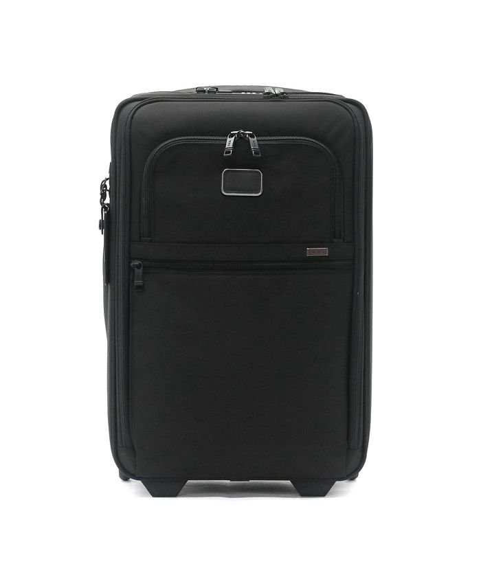 (TUMI/トゥミ)【日本正規品】トゥミ スーツケース TUMI Alpha3 インターナショナル・エクスパンダブル・2ウィール・キャリーオン 機内持ち込み 35L 2203020/ユニセックス ブラック