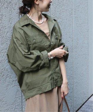 オーバーサイズミリタリーシャツジャケット◆