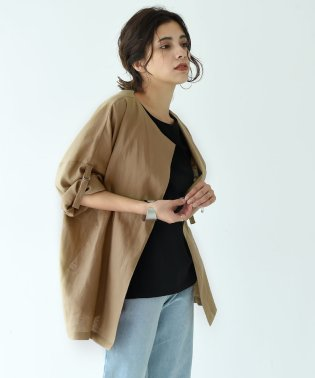 FRENCH LINEN SUMMER JAKET