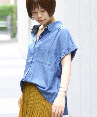 テンセルシャツ