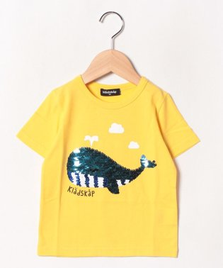 くじらスパンコールTシャツ