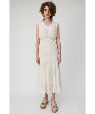 V NECK CHIFFON GATHER ドレス
