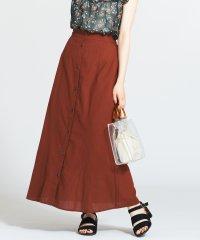 WEGO/フロントボタンロングスカート