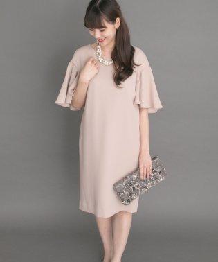 【ROSSO】バタフライスリーブドレス