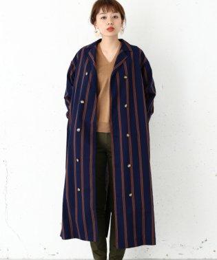 【SonnyLabel】ストライプダブルシャツマキシOP