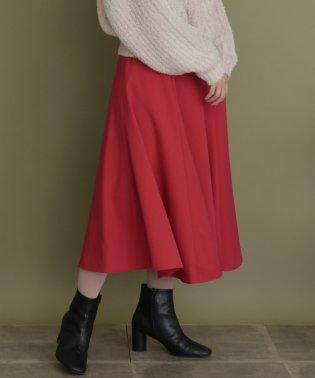 【KBF】サイド釦フレアスカート