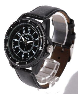 〈F.W.C/エフ ダブル シー〉Casual Leather Watch/カジュアルレザーウォッチ レザービッグ