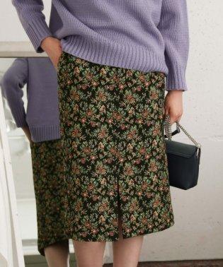 【KBF+】ゴブラン織りタイトスカート