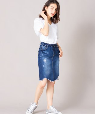 【Loana】デニムスカ-ト
