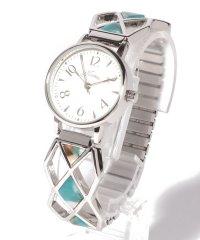 〈nattito/ナティート〉Acetate Expansion Belt Watch ダイヤン