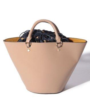 カシュカシュ cachecache / アソート柄巾着付属バケツ型2wayトートバッグ