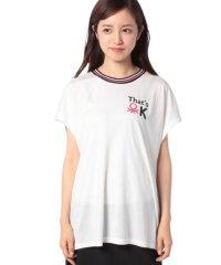 ロゴプリントフレンチ半袖Tシャツ・カットソー
