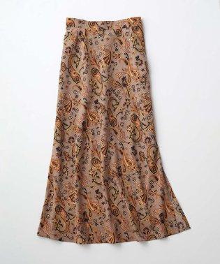 【WEB先行予約】ペイズリープリントマーメイドスカート