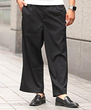 TRストレッチワイドパンツ/ワイドパンツ メンズ スラックス アンクル