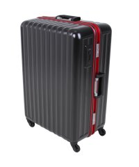 バウンドリップ スーツケース Lサイズ フレームタイプ ストッパー付き 軽量 大型 大容量 105L BD88