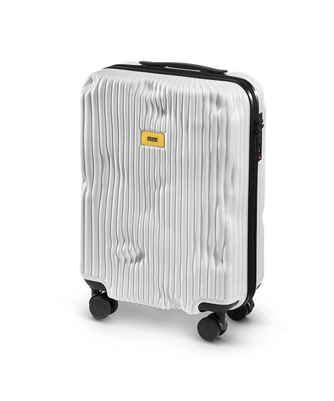 (CRASH BAGGAGE/クラッシュバゲージ)クラッシュバゲージ スーツケース 機内持ち込み Sサイズ 40L かわいい 軽量 CRASH BAGGAGE cb151/ユニセックス ホワイト