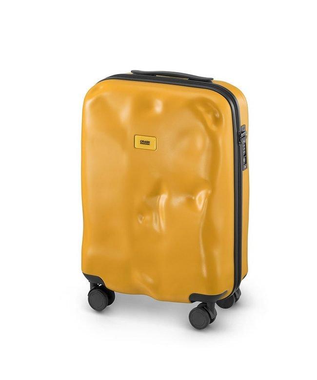 (CRASH BAGGAGE/クラッシュバゲージ)クラッシュバゲージ スーツケース 機内持ち込み Sサイズ 40L かわいい 軽量 CRASH BAGGAGE cb161/ユニセックス イエロー