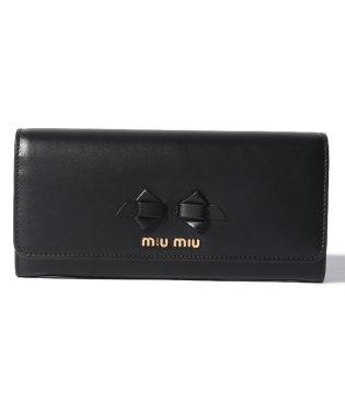 【MIU MIU】長札ファスナー財布