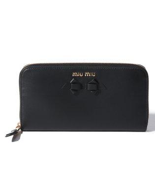 【MIU MIU】ラウンドファスナー財布
