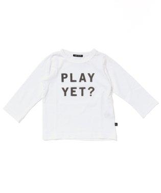 テンジク PLAY YET? 長袖 Tシャツ