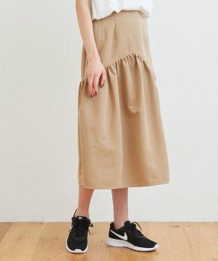 デザイン切替ギャザースカート