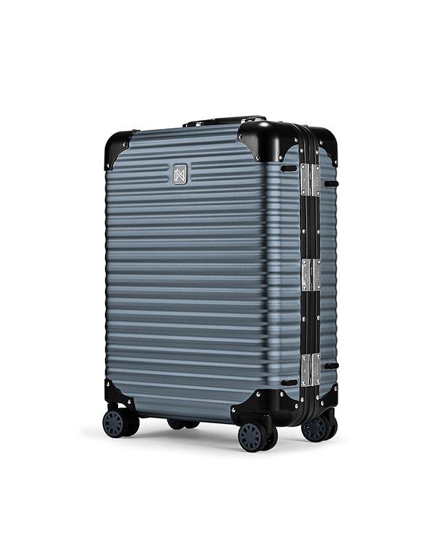 (LANZZO/ランツォ)ランツォ スーツケース 機内持ち込み LANZZO NORMAN 34L Sサイズ ノーマン アルミフレーム アルミボディ/ユニセックス グレー系1