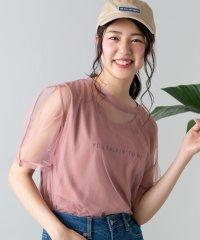 WEGO/【2点セット】チュールアンサンブルTシャツ