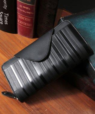 財布 長財布 メンズ スマホが入る財布 本革 レザー 多機能 大容量 ラウンドファスナー ギャルソン財布 ギガウォレット VACUA