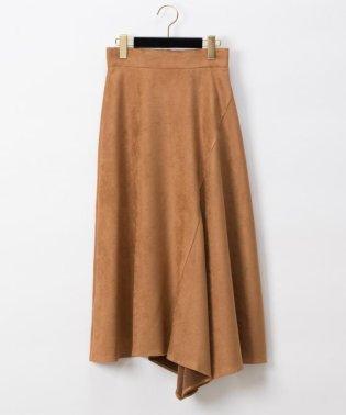 スエードイレギュラースカート