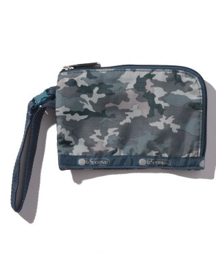 CURVED COIN POUCH カモブルース
