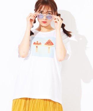 WEGO/スイーツバリエーションフォトTシャツ