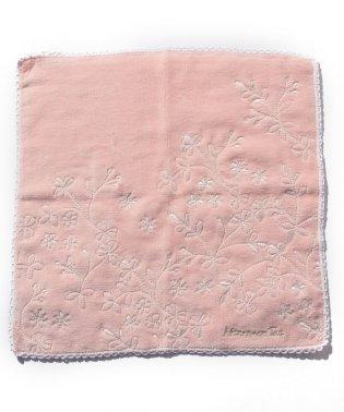 ボタニカル刺繍ミニタオル