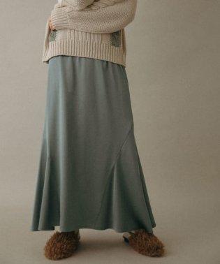 WEB限定 ストレッチサテンマーメイドスカート