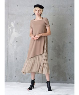 Square Boat Slit Dress