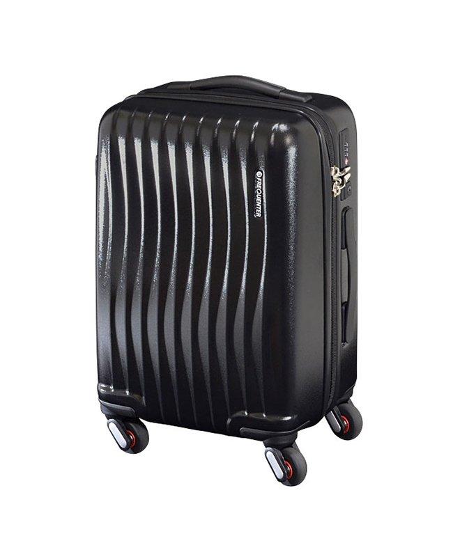 (FREQUENTER/フリクエンター)スーツケース 機内持ち込み Sサイズ 超軽量 静音 34L フリクエンター FREQUENTER 1−622 キャリーケース キャリーバッグ/ユニセックス ブラック
