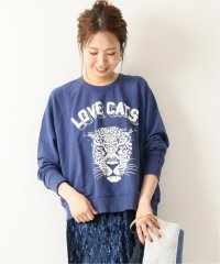 【DAY DREAMER】 Love Cats Varsity Sweatshirt